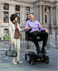 san francisco electric wheel chair