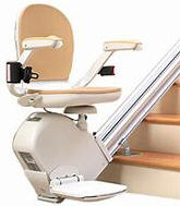 kraus stairlift chair stairway staircase straight home stair lift