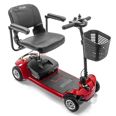 newport beach travel elite plus are take apart folding are 4 four senior elderly three wheeled  mobility scooter electric 3 wheel chair