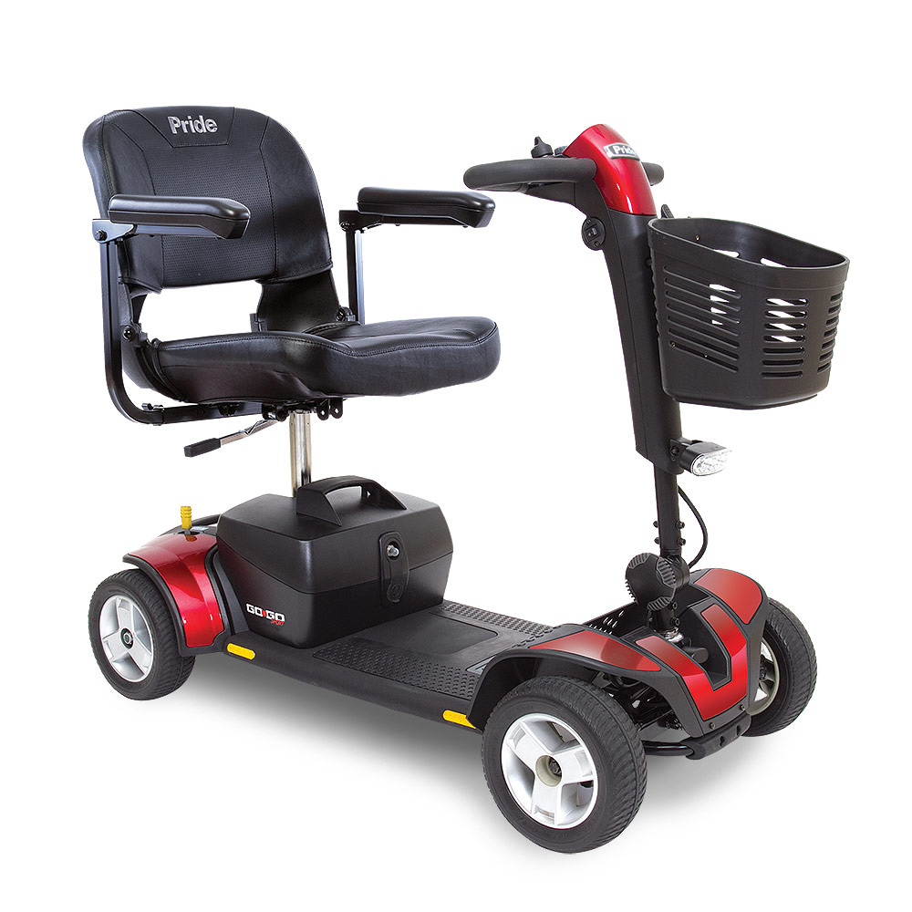 Alhambra go go sport heavy duty 300 Pound weight capaAlhambra senior 3 wheel mobility scooter