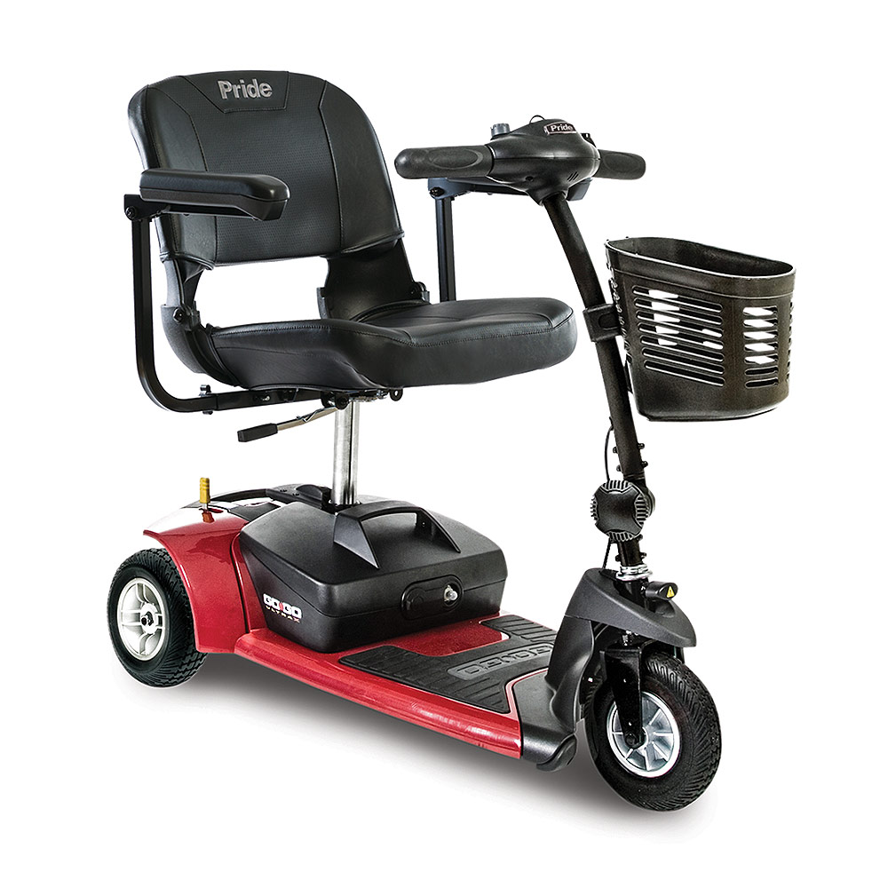gogo ultra 3 wheel mobility senior scooter