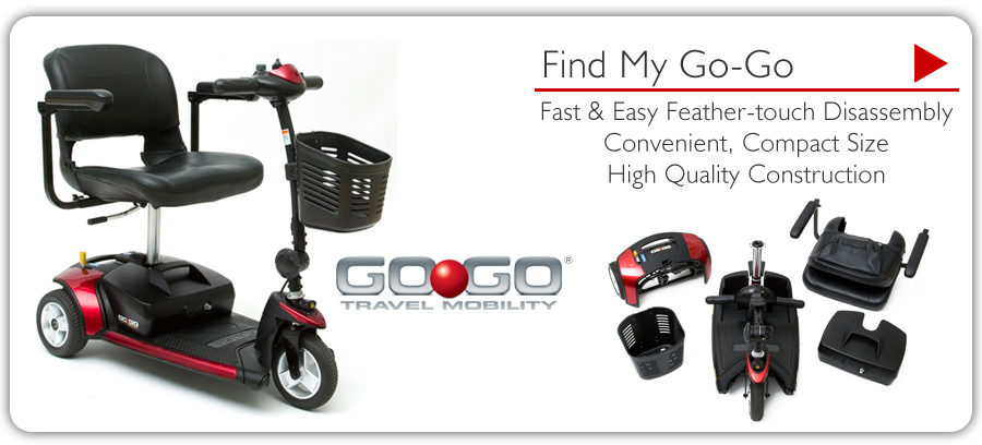 Go-Go Travel Mobility - Find My Go-Go