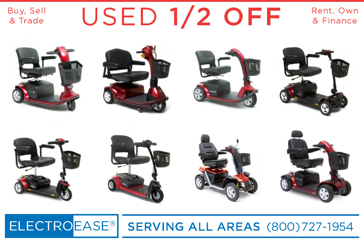 Used electric scooter pacesaver eclipse espree heavy duty outside electric senior chair