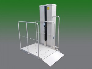 San Francisco Ca. wheelchair elevator vpl vertical platform lift